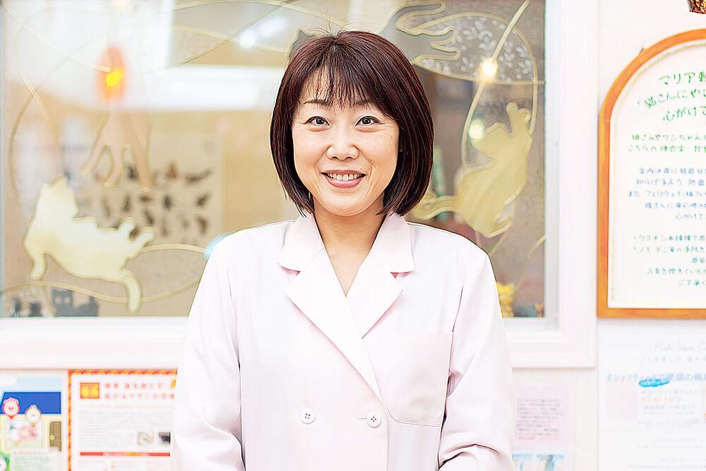 院長/獣医師 梅村理恵